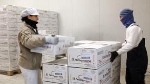 Preparación de pedidos en camara de mantenimiento de frio BAJA